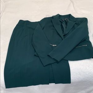 Blazer and Skirt Suit Set by New York and Company!